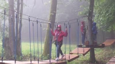 Fotoalbum Abenteuer im Kletterwald Veilbronn
