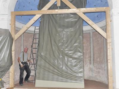 Fotoalbum Weitere Sanierungsarbeiten an der Butzower Dorfkirche