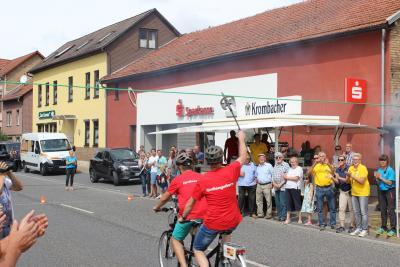 "Fotoalbum Der Förderverein kämpft in der MDR-Sendung ""Mach dich ran!"" um Fördermittel"
