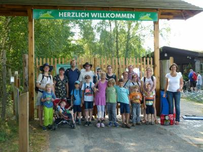Fotoalbum Familienausflug zum Wildpark Johannismühle Baruth/Mark