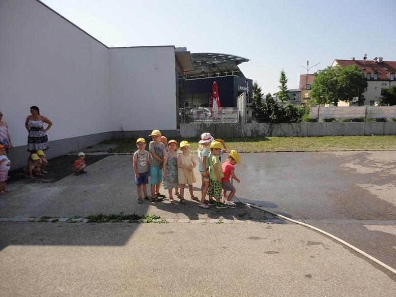 """Foto der Galerie: Besuch vom Kindergarten """"Villa Kunterbunt"""""""