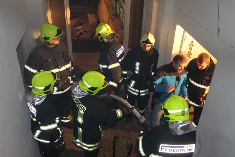 """Foto der Galerie: Dienst   """"Taktische Brandbekämpfung"""""""