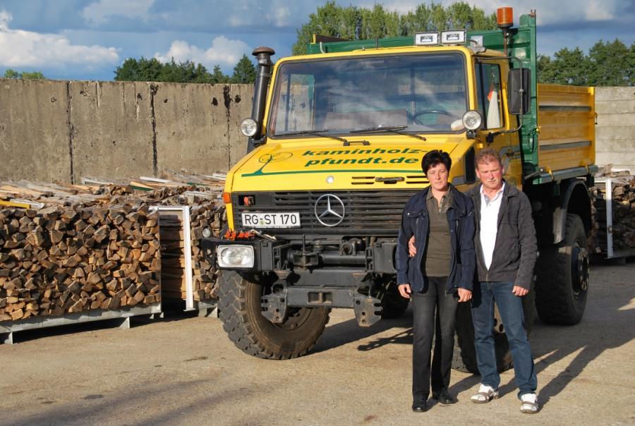 Foto der Galerie: Holzstapelung