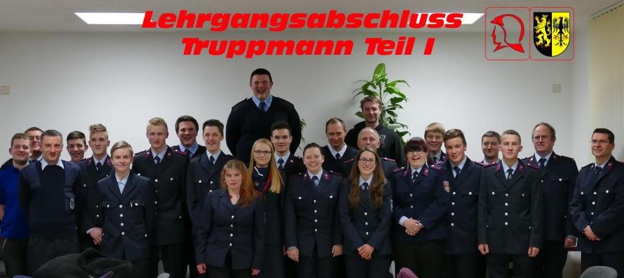Foto der Galerie: Lehrgangsabschluss Truppmann Teil 1 Rodewisch ZAST am 19.02.2016