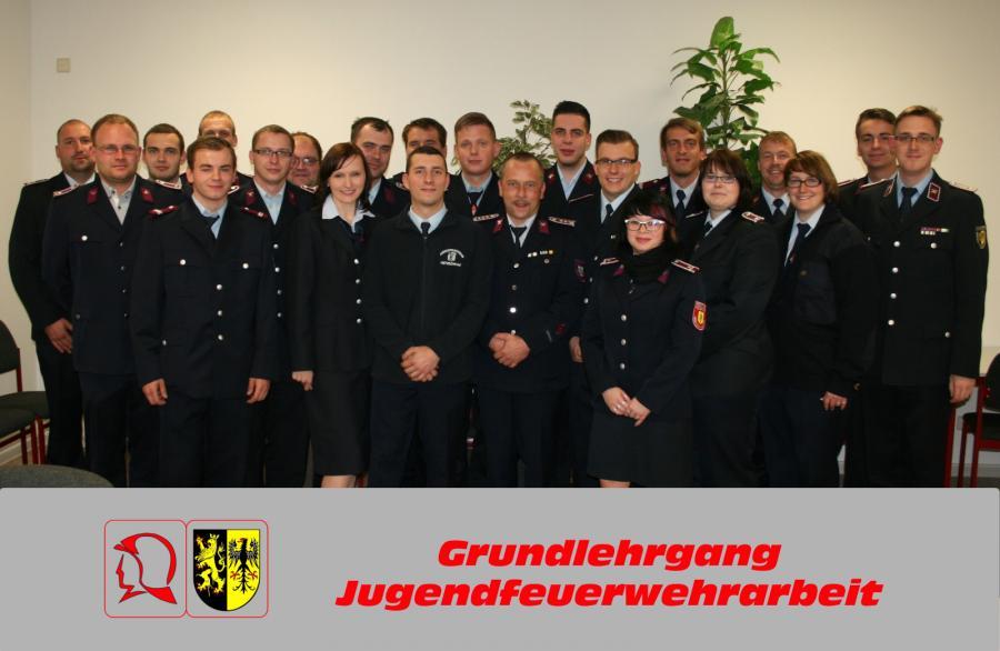 Foto der Galerie: Lehrgangsabschluss Jugendfeuerwehrarbeit - Grundlehrgang