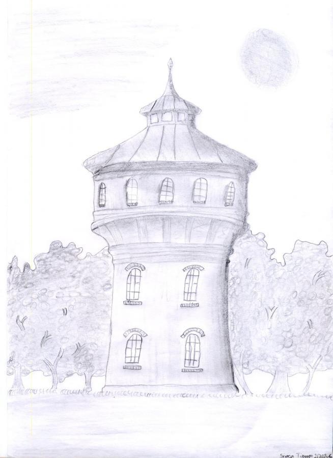 Foto der Galerie: Wir haben den schönsten Turm! Hier einige Zeichnungen...