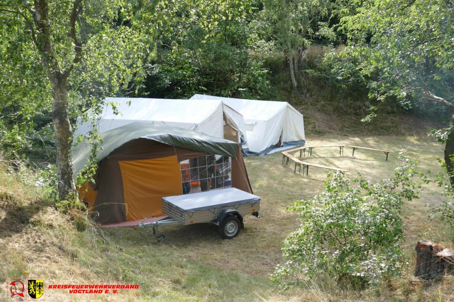 Foto der Galerie: Jugendfeuerwehr Adorf fünf Tage im Zeltlager