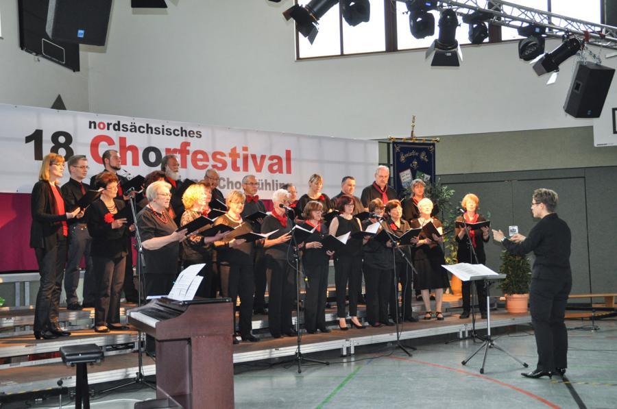 18. Nordsächsisches Chorfestival am 13.Mai 2017 in Glesien