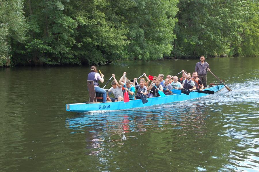Foto der Galerie: Drachenbootrennen auf der Havel