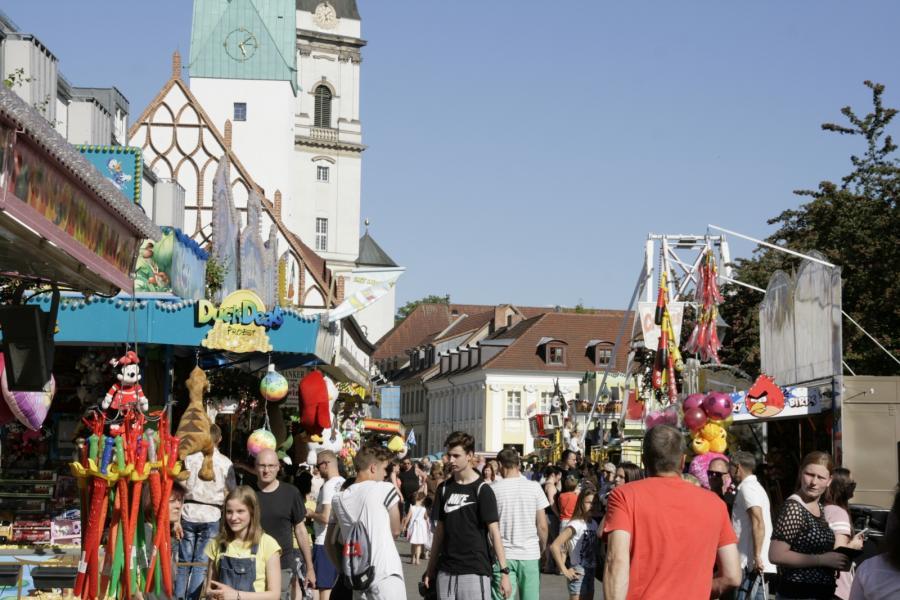 Weihnachtsmarkt Fürstenwalde.Fürstenwalde Spree Fürstenwalde Feiert