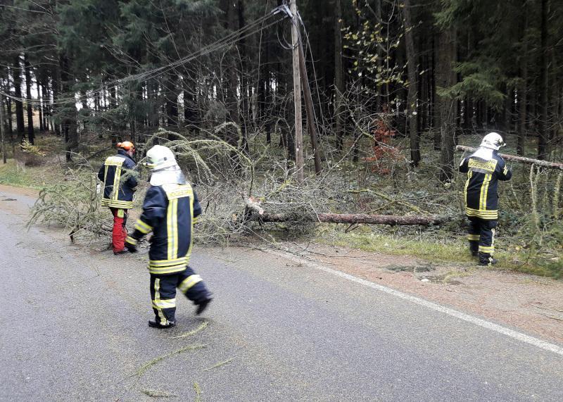 Foto der Galerie: Sturm Herwart tobt über Vogtlandkreis und fordert viele vogtländische Feuerwehren
