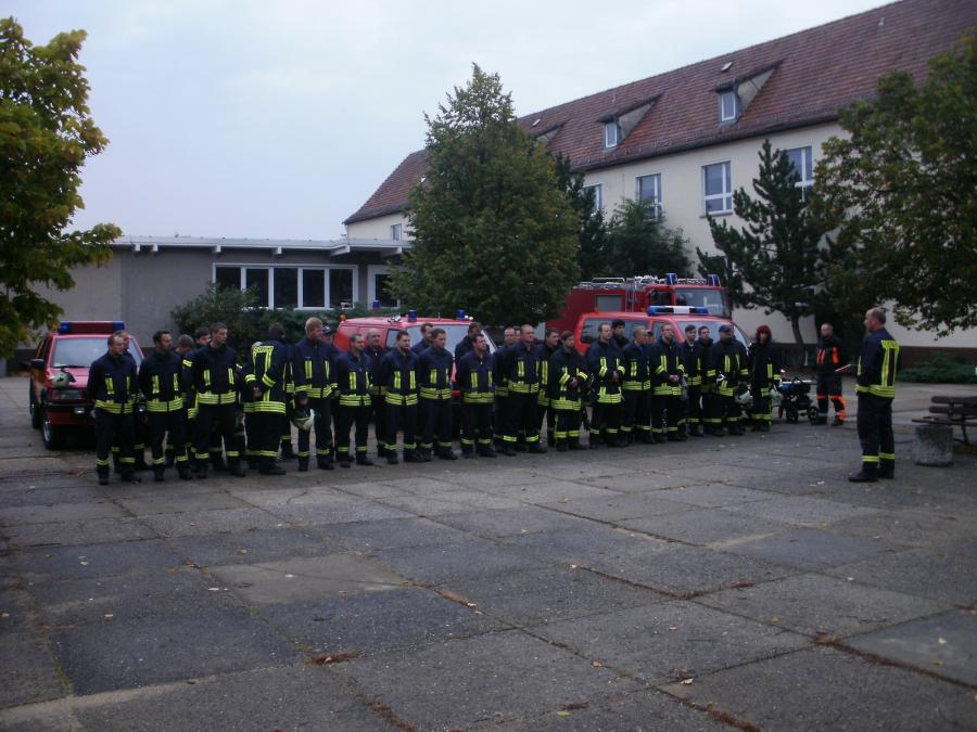 Foto der Galerie: Ganztagsschulung 2012 der Gemeindewehr