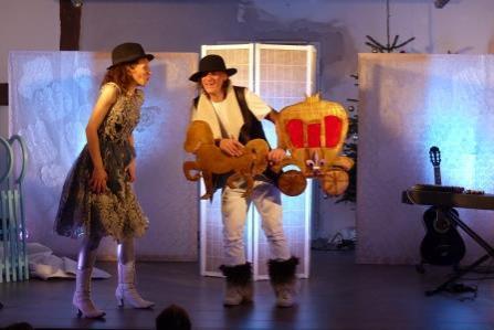 Foto der Galerie: Theater im KulturKonsum - Die Schneekönigin