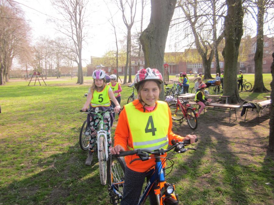 Foto der Galerie: Fahrradprüfung 4. Klassen