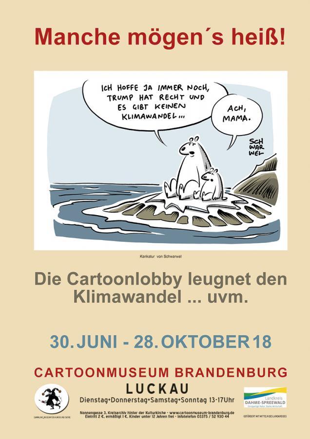 Www Cartoonmuseum Brandenburg De Manche Mogen S Heiss Die