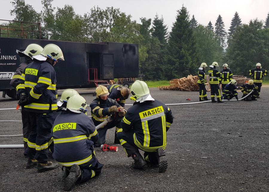 Foto der Galerie: Deutsch- / Tschechische Gefahrenabwehr und Zusammenarbeit trainiert- - Gemeinsame Übung lässt Kameraden näher Zusammenrücken