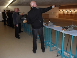 Foto der Galerie: Unser Schießstand an einem Trainingsabend