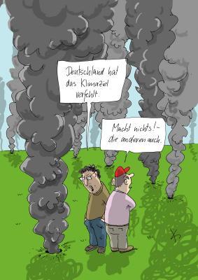 Cartoon von Matthias Kiefel