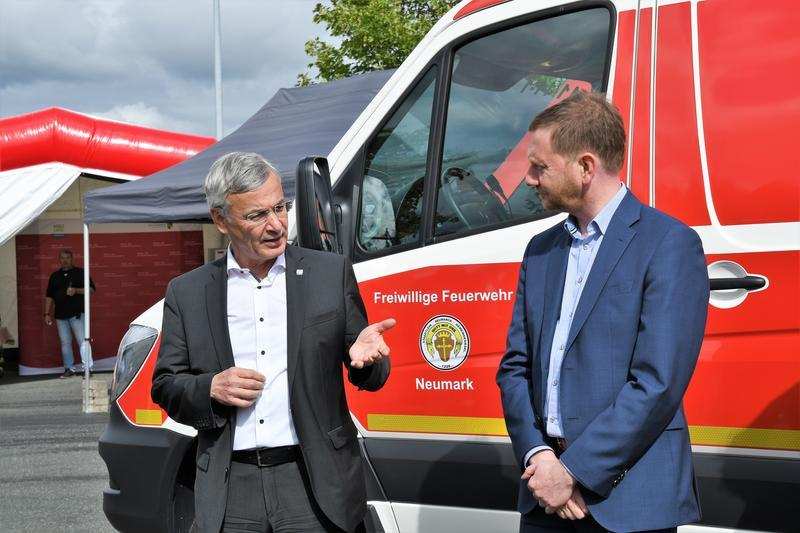 Foto der Galerie: Neues Kompetenzzentrum für den Brand- und Katastrophenschutz /Ministerpräsident informiert sich über den Stand der Planungen