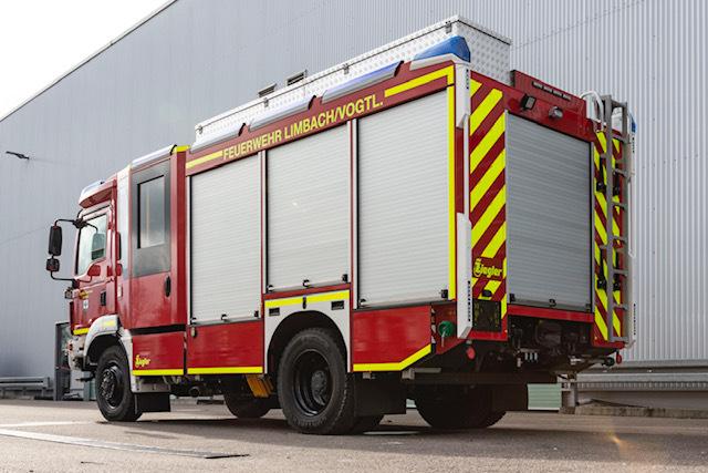 Foto der Galerie: Neues Hilfeleistungslöschgruppenfahrzeug für Limbacher Feuerwehr