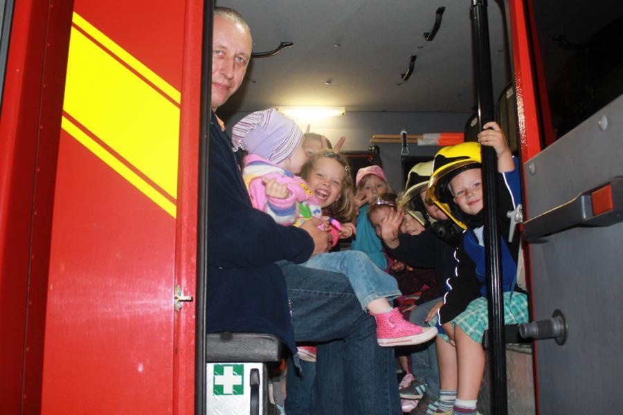 Foto der Galerie: Familientag in unserer Feuerwehr