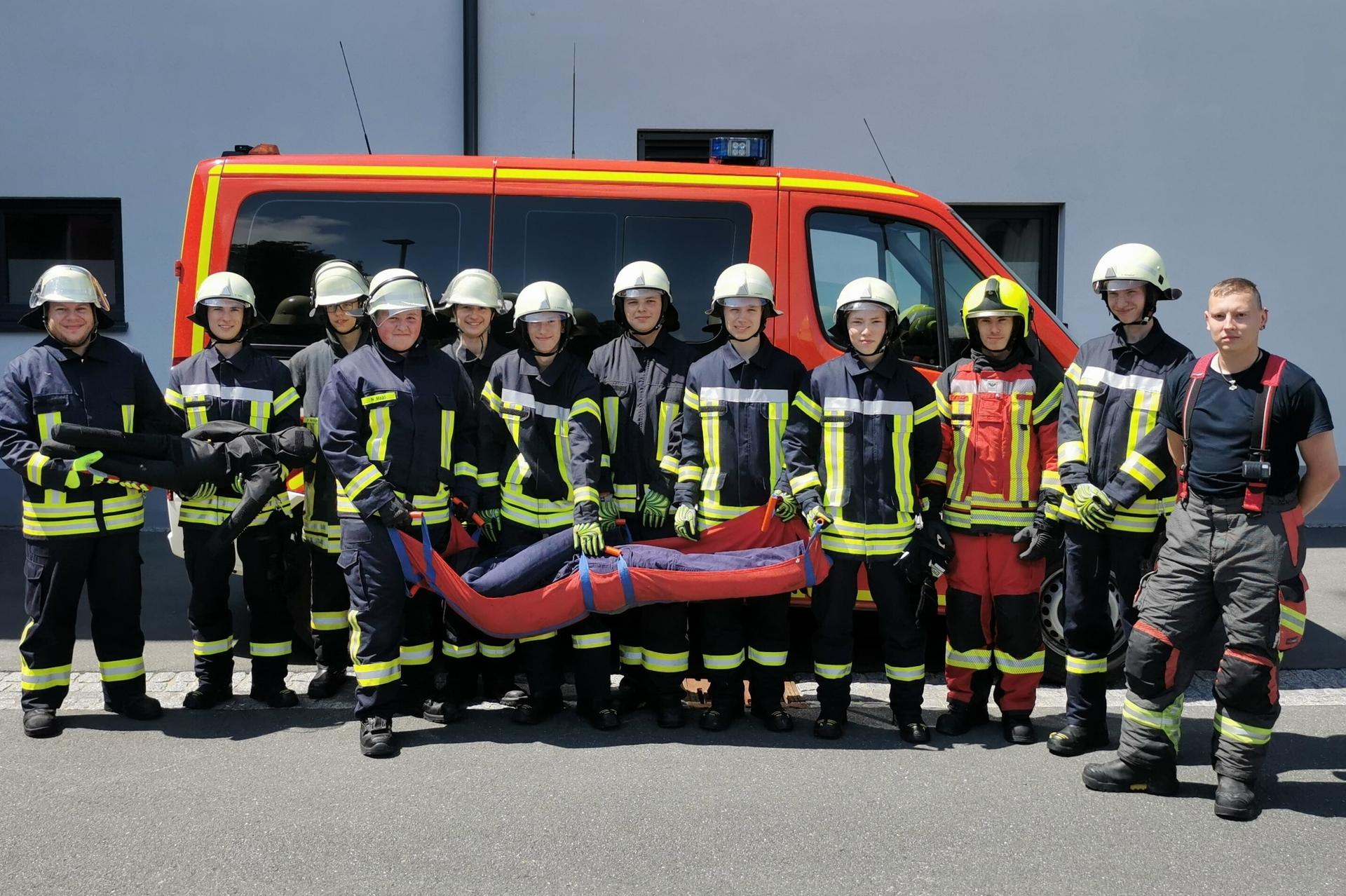 Foto der Galerie: Kreisausbildung - Feuerwehren holen wieder auf!