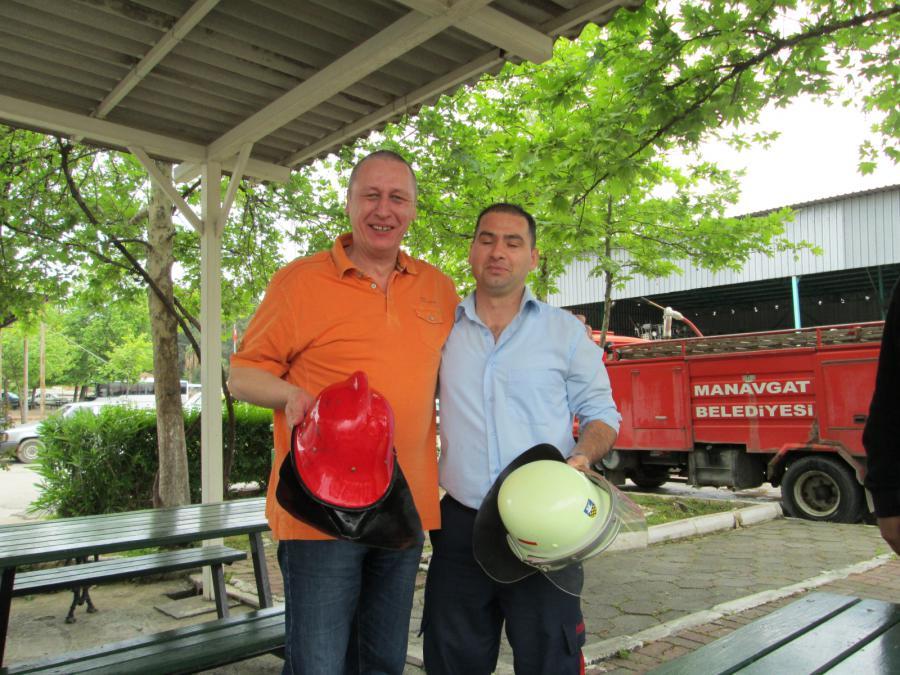 Foto der Galerie: Kamerad besuchte eine Feuerwehr in der Türkei