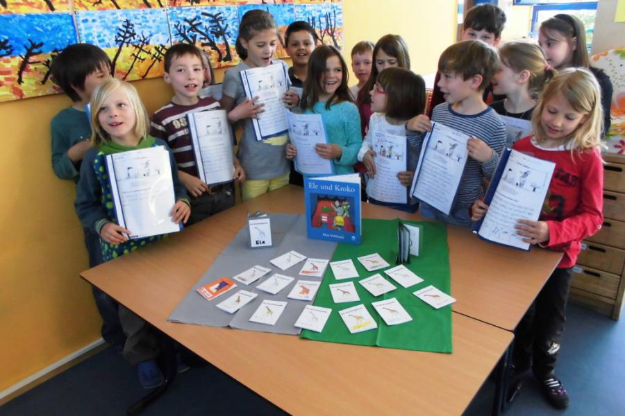 Grundschule Schillingen - Die Giraffensprache kennen lernen