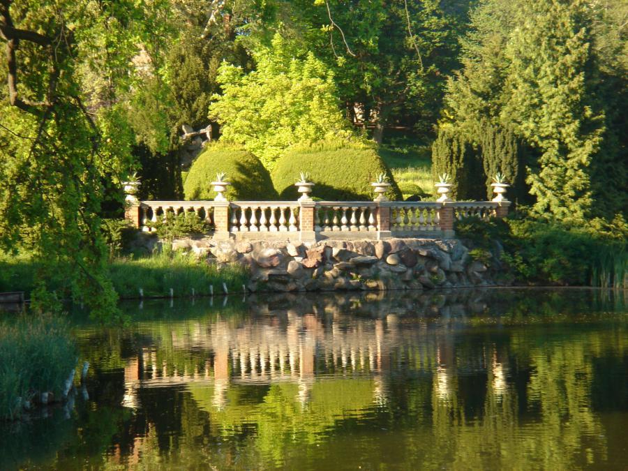 Foto der Galerie: Der Park im Sommer