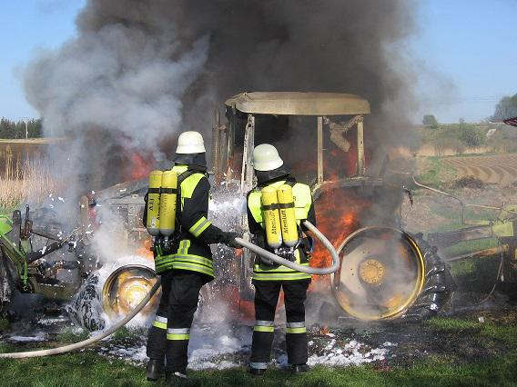Foto der Galerie: Traktorbrand