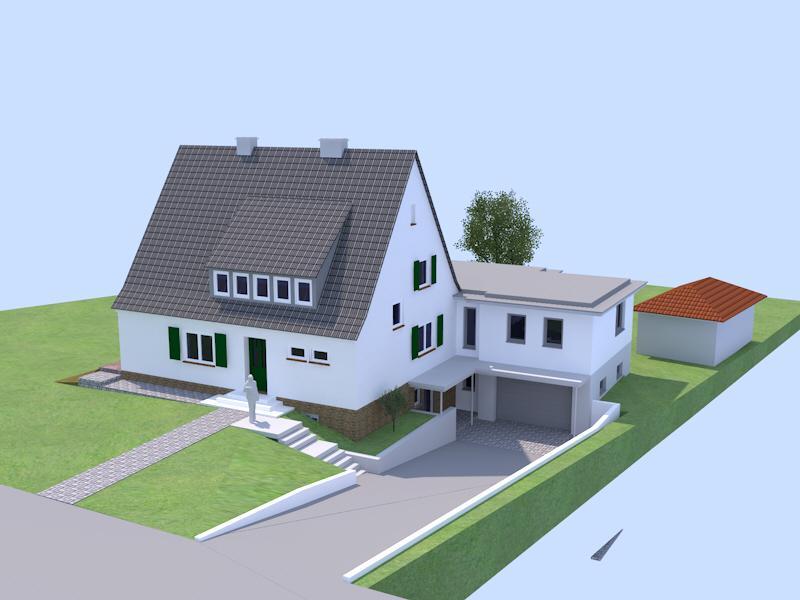 architekt manfred lincke anbau in borken. Black Bedroom Furniture Sets. Home Design Ideas