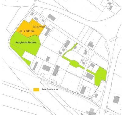 Lage des Grundstückes im Gewerbepark