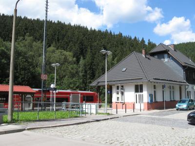 Bahnhofsgebäude Katzhütte