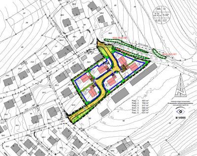 Übersicht Baugebiet Hennensteig II