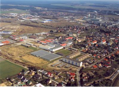 Luftbild - Beeskow-Nord
