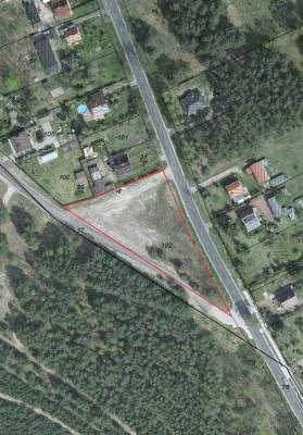 Biegener Landstraße (OT Dubrow), Müllrose - Flur 22, Flurstück 102 unbebaut