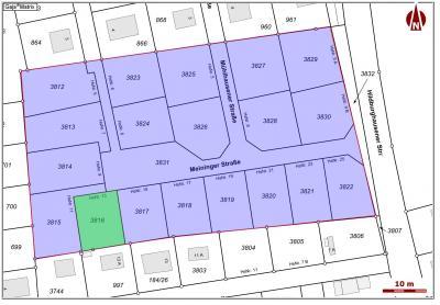 Lageplan Meininger Straße 13