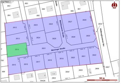 Lageplan Meininger Straße 9