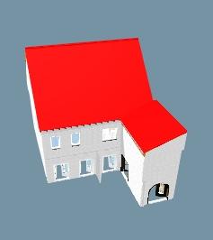 Bebauungskonzept - 2 Maisonettewohnungen