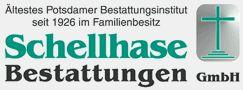 Logo von Schellhase Bestattungen GmbH (in der Nähe vom Havel-Nuthe-Center)