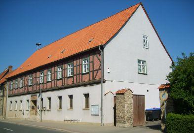 das Gröninger Rathaus - Hauptsitz der Verbandsgemeinde Westliche Börde