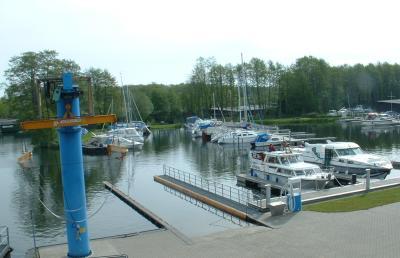 Wasserwanderrastplatz am Plauer See
