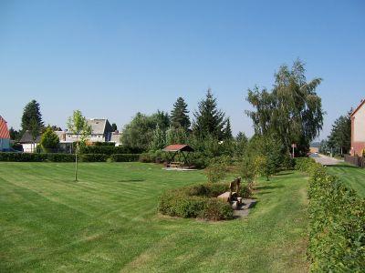 Blick zum Siedlerpark