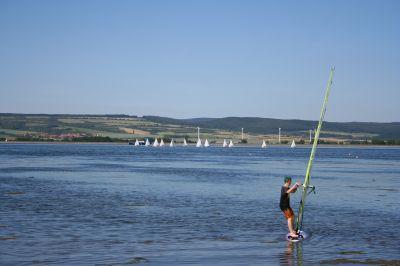 Segeln und Surfen am Stausee Kelbra