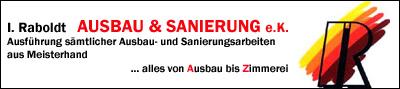 Logo von Ingo Raboldt   Ausbau & Sanierung e.K.