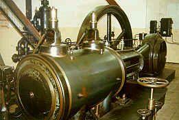 Dampfmaschine in Dessow aus dem Jahr 1906