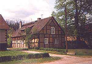 Dorfbildprägendes Fachwerkgebäude