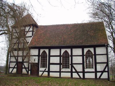 historische Fachwerkkirche