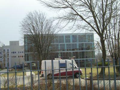 Das Deutsche Rundfunkarchiv auf dem Gelände des RBB in Babelsberg.
