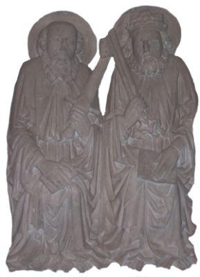 Gemeindepatrone Paulus und Petrus